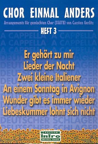 Chor einmal anders Band 3: Arrangements für gem Chor (SSATB)
