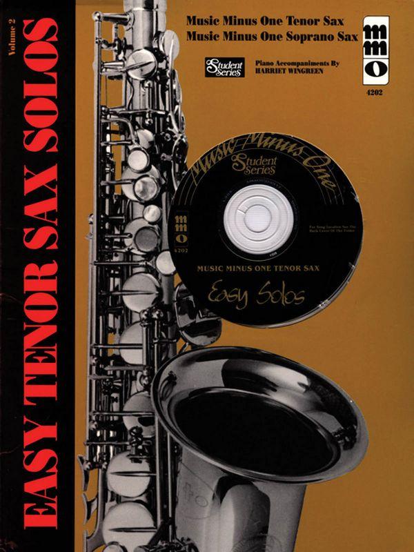 MUSIC MINUS ONE TENOR SAX: EASY SOLOS (NOTEN UND CD)
