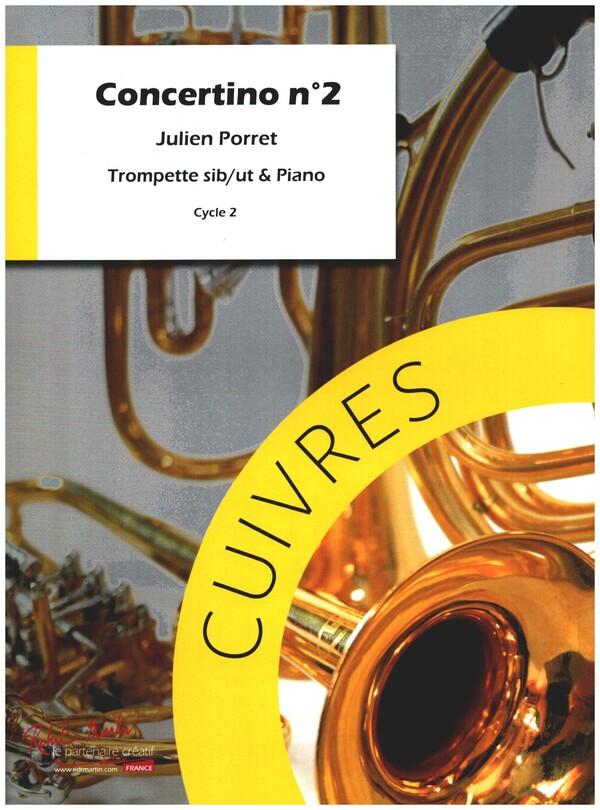 Porret, Julien - Concertino no.2 :