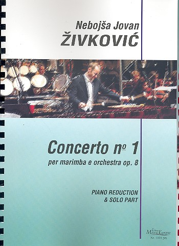 Concerto no.1 op.8: per marimba e orchestra