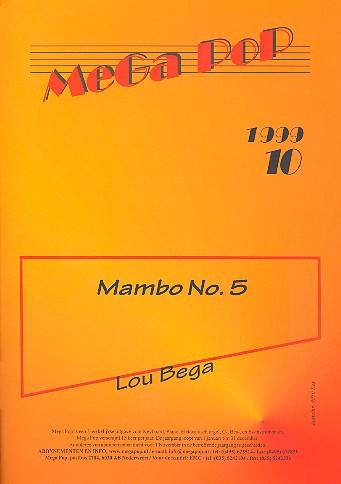 Mambo No. 5: Einzelausgabe für B-Instrument (mit Text)