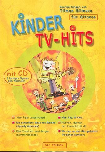 - Kinder-TV-Hits (+CD) : für Gitarre
