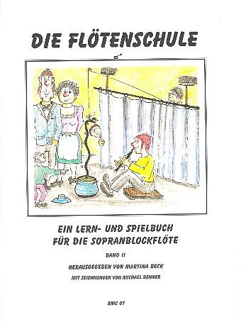 Die Flötenschule Band 2: Lern- und Spielbuch für Sopranblockflöte