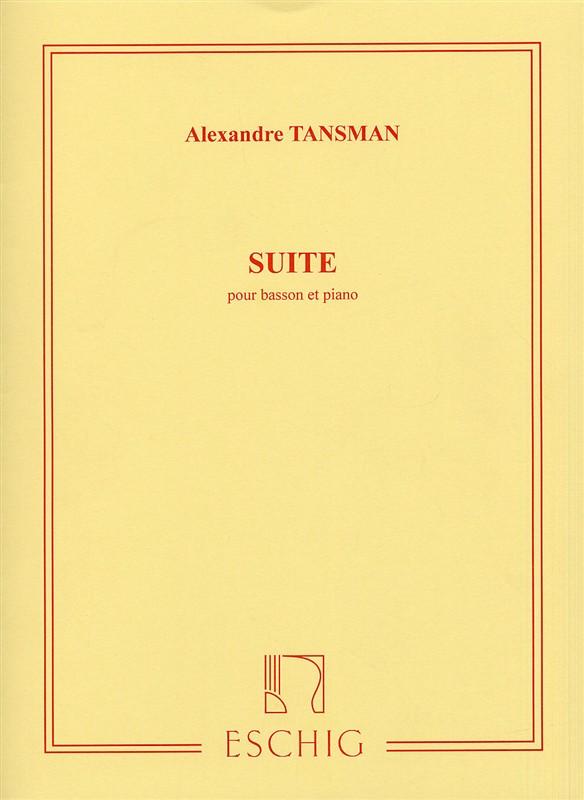Tansman, Alexandre - Suite : pour basson et piano