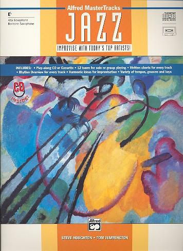 ALFRED MASTER TRACKS JAZZ (+CD): FOR ALTO SAXOPHONE (EB)