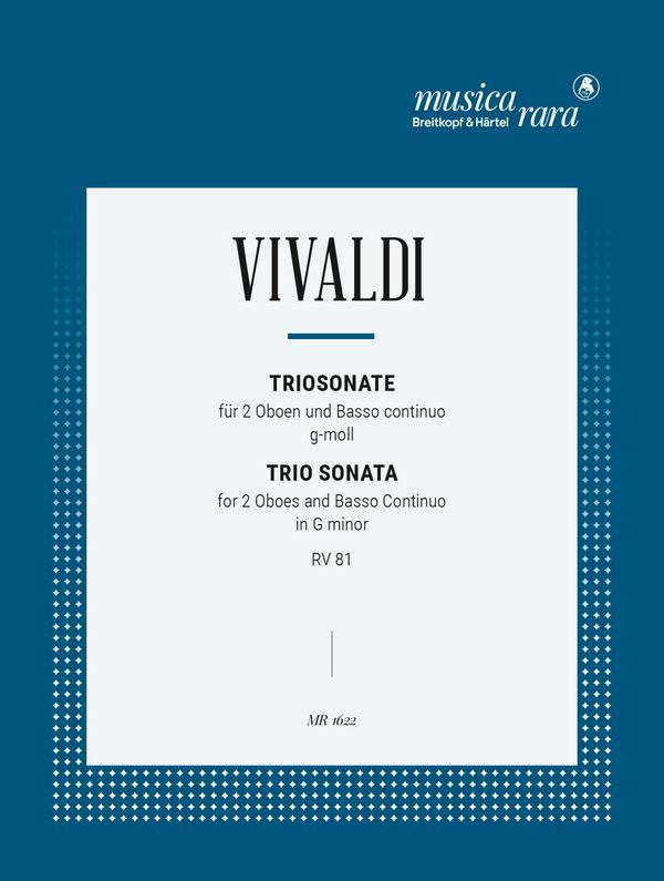 Vivaldi, Antonio - Triosonate g minor RV81 :