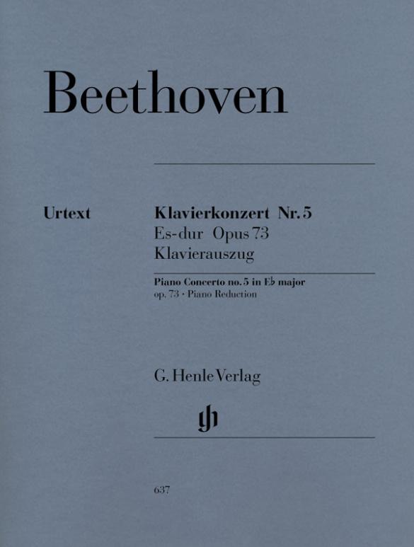 Beethoven, Ludwig van - Konzert Es-Dur Nr.5 op.73 für