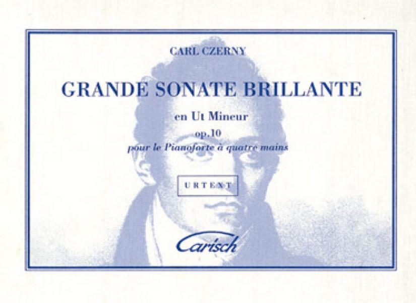 Czerny, Carl - Grande sonate brillante ut mineur op.10 :