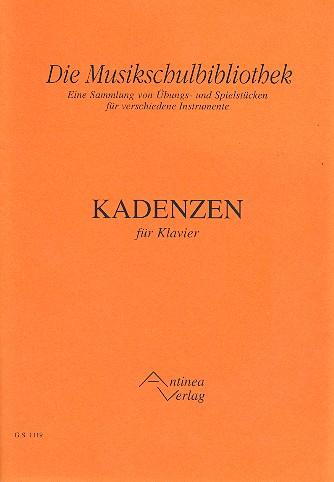 Kadenzen: für Klavier