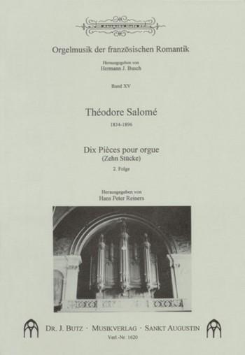 10 pièces pour orgue vol.2: Orgelmusik der französischen Romantik