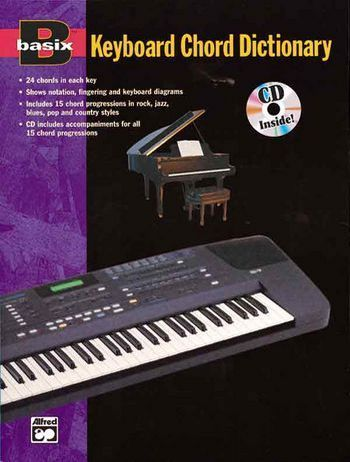 BASIX KEYBOARD CHORD DICTIONARY: BOOK WITH CD