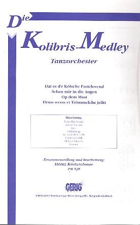 Die Kolibris: Medley für Tanzorchester