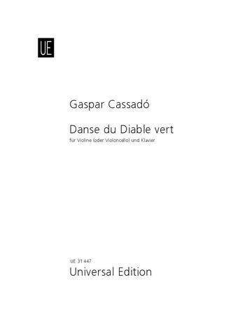 Cassado, Gaspar - Danse du diable vert  :