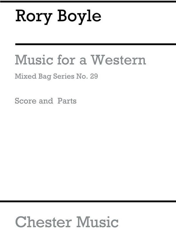 MUSIC FOR A WESTERN: FOR WOODWIND ENSEMBLE
