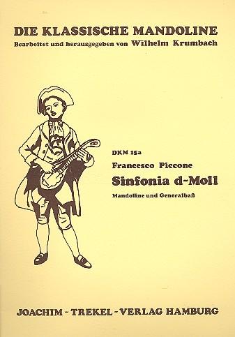 Sinfonia d-Moll: für Mandoline und Bc