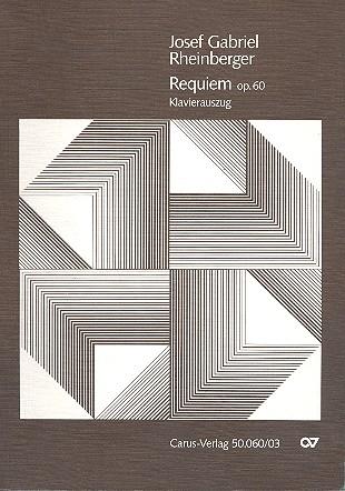 Requiem op.60: für Soli (SATB), Chor (SSATB) und Orchester