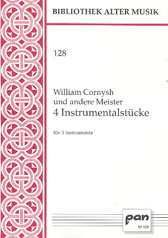 4 Instrumentalsätze: für 3 Instrumente