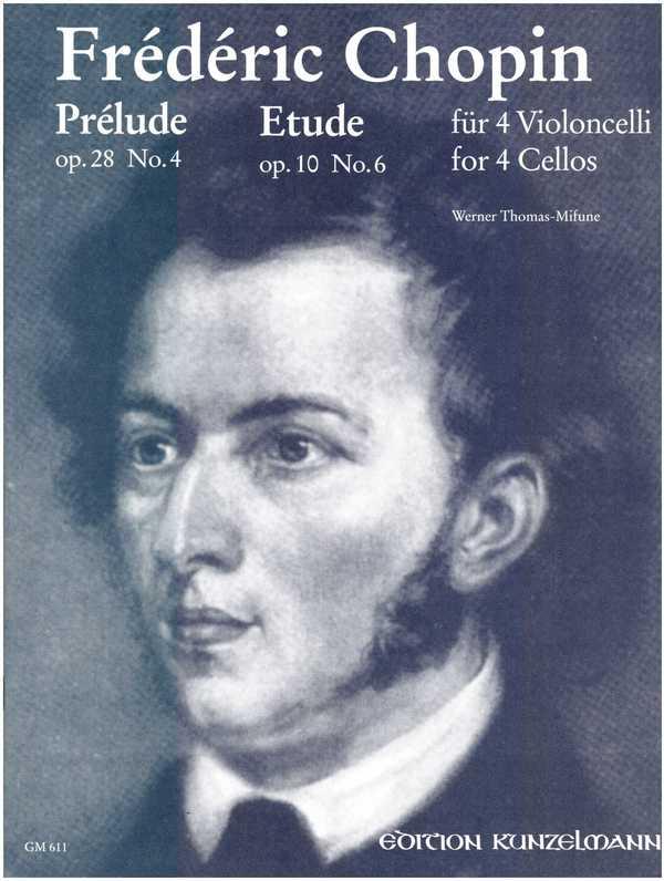 2 Preludes: für 4 Violoncellli Stimmen