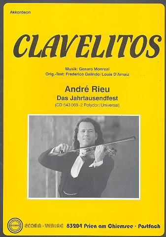 Clavelitos: für Akkordeon (mit 2. Stimme)