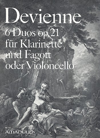 Devienne, Francois - 6 Duos op.21 : für Klarinette und