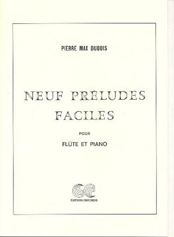 9 préludes faciles: pour flûte et piano