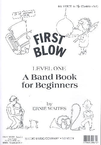 First Blow Level 1: 4. Stimme in B im Violinschlüssel