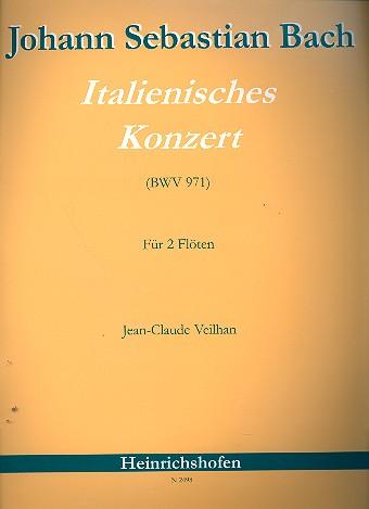 Bach, Johann Sebastian - Italienisches Konzert BWV971 :