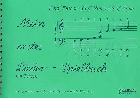 Mein erstes Liederspielbuch: für Klavier mit Texten