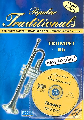Popular Traditionals (+CD): for trumpet