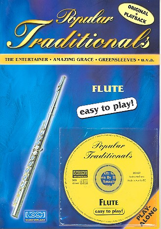 Popular Traditionals (+CD) for Flute