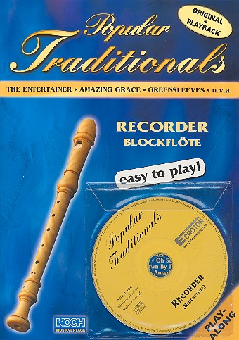 Popular Traditionals (+CD): for recorder