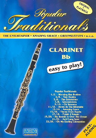 Popular Traditionals (+CD): for clarinet in bb