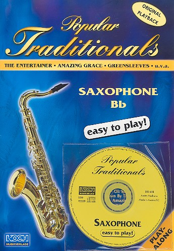 Popular Traditionals (+CD): for saxophones in Bb/Eb