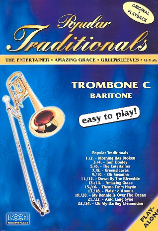 Popular Traditionals (+CD): for trombone / tuba in C