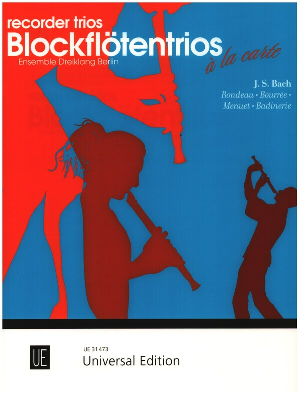 4 Stücke aus der Orchestersuite Nr.2 BWV1067: für 3 Blockfloeten (ATB)