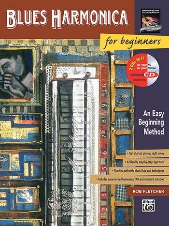 Blues Harmonica for Beginners (+CD): An easy beginning method