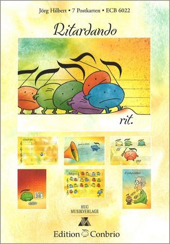 - Postkarten-Set 3 : Ritardando (7 Stück)
