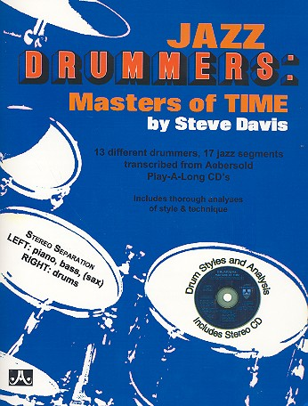 Jazz Drummers (+CD): Masters of Time