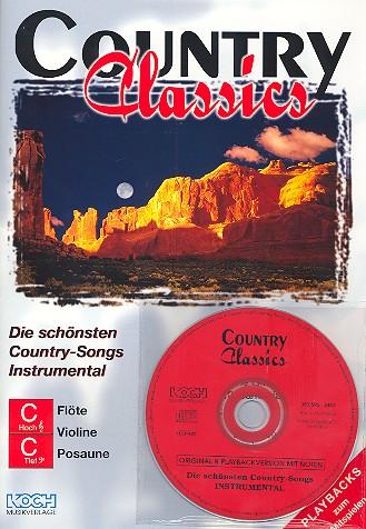 Country Classics (+CD): für C-, B und Es-Instrumente