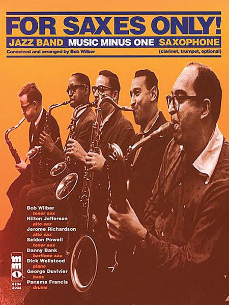 MUSIC MINUS ONE SAXOPHONE: FOR SAXES ONLY     NOTEN+CD
