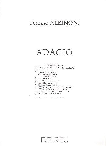 Adagio: pour flute ou violon et piano