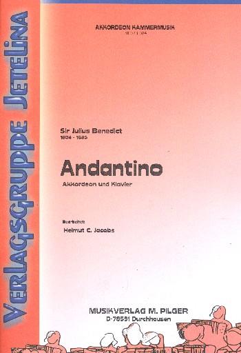 Andantino: für Akkordeon und Klavier