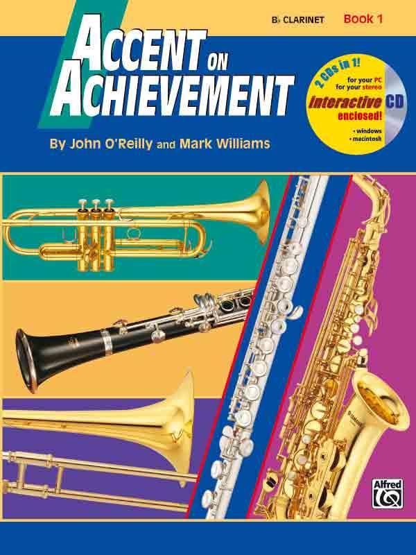 Accent On Achievement vol.1 for band (en/dt)