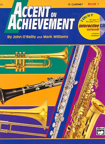 Accent on Achievement vol.1 (+CD-ROM): for band (en/dt)