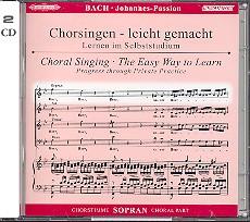 Bach, Johann Sebastian - Johannespassion BWV245 : 2 CD's