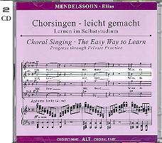 Mendelssohn-Bartholdy, Felix - Elias op.70 : 2 CD's mit Chorstimme