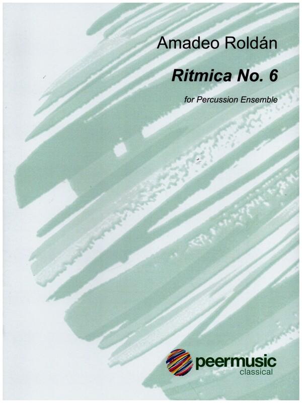 Ritmica no.6: for percussion ensemble