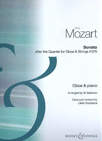 Mozart, Wolfgang Amadeus - Sonata after the Quartet KV370 :
