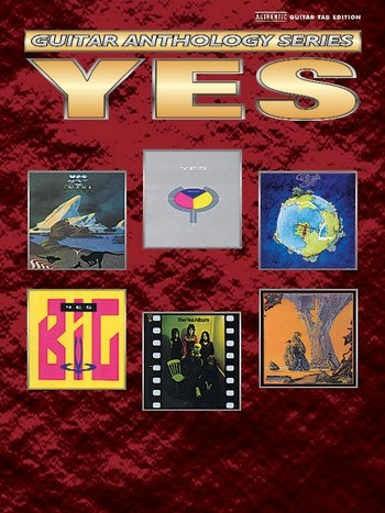 Yes: Guitar Anthology series with super-tab notation
