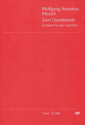 Mozart, Wolfgang Amadeus - 2 Divertimenti aus KV Anhang 229 :